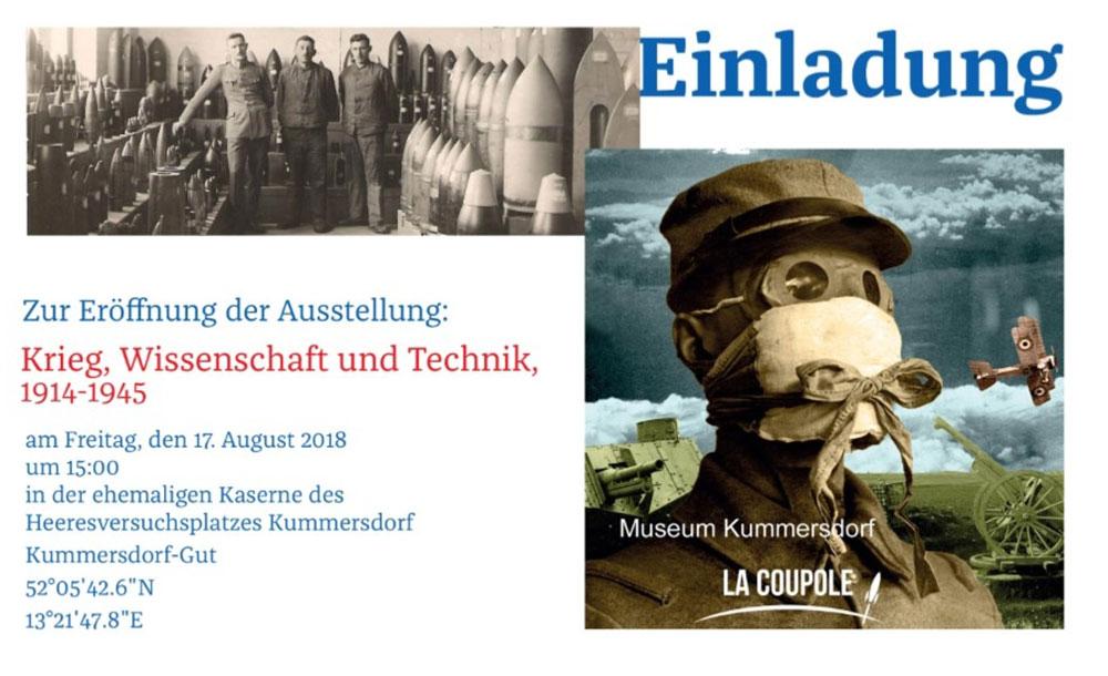 Krieg, Wissenschaft und Technik, 1914-1945